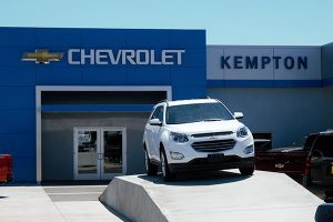 Jon Johnson Photo/Gila Valley Central: Abran Bejarano claims he was just test driving a Ford Expedition reportedly stolen from Kempton Chevrolet, but employees said he never had permission to take the vehicle.
