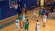 Jon Johnson Photo/Gila Valley Central: The visiting Thatcher Eagles blew out host Safford Bulldogs, 71-45.