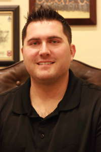 Eric Burk Photo/Gila Valley Central: Chris Taylor at Desert Eagle Addiction Recovery