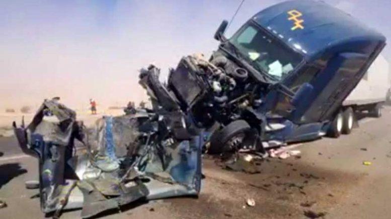 110 Freeway Accident >> Safford gridlocked with freeway traffic after fatal crash on I-10   GilaValleyCentral.Net
