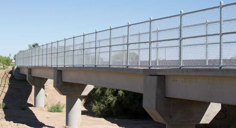 Pima Pedestrian Bridge open for business, and business is ...