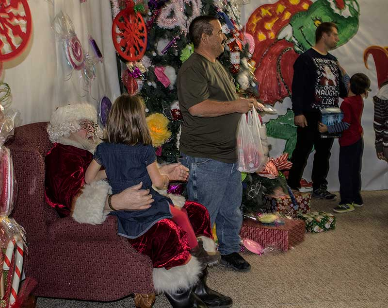 Santa and special needs dinner 2017 - there, that enough info for you, jon?