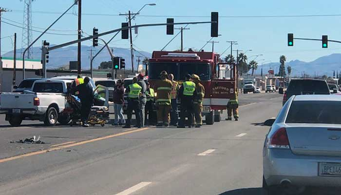 Traffic accident backs up traffic on Highway 70 | GilaValleyCentral Net