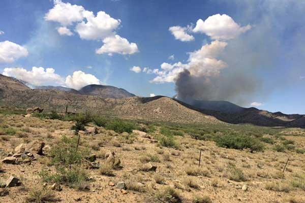 Two wildfires burning in Cochise County | GilaValleyCentral Net