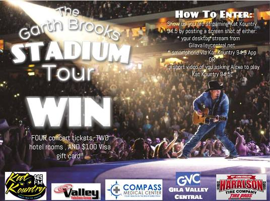 Want to win tickets to see the sold out Garth Brooks concert