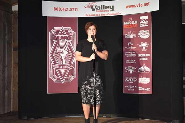 Performance by Olivia Jeffs