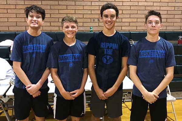 16 and Under Basketball Runner-ups