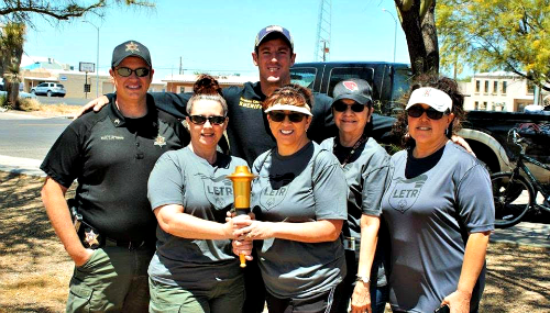 Sheriff's Office Torch Runners