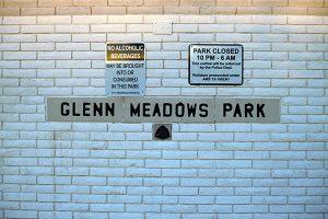 Glenn Meadows Park sign web