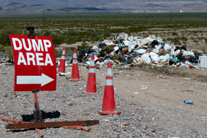 Jon Johnson Photo/Gila Valley Central: In addition to the bulk pickup, the landfill will have its free dump week for all county residents Oct. 15-22.
