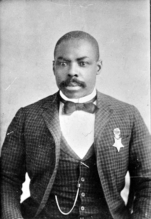 Isaiah Mays, recipient of the Medal of Honor for his actions during the Wham Robbery.