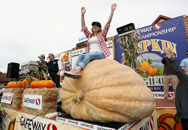 Winner Named At Giant Pumpkin Annual Weigh Off In