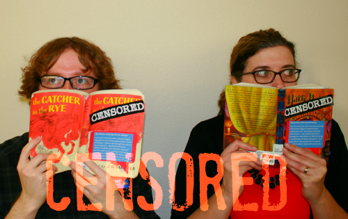 Brooke Curley Photo:/ Gila Valley Central: from left to right- Brandon Nite and Leanne McElroy want to invite the public to the Banned Book Event. The Banned Book is an evening for book lovers on October 11 at the Safford Library.