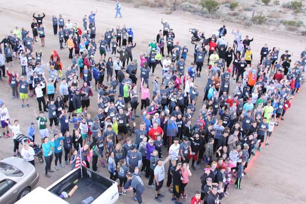 Contributed Photo/Courtesy Jace Nelson: Racers line up to start during last year's event.