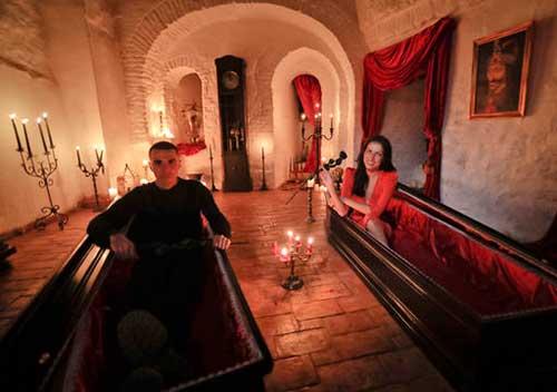 Dracula's Coffins