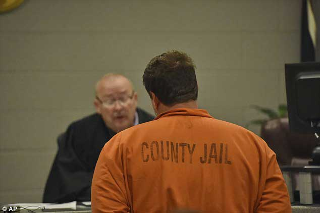 AP Photo: Magistrate Judge Jimmy Henson orders Kohlhepp held without bail.