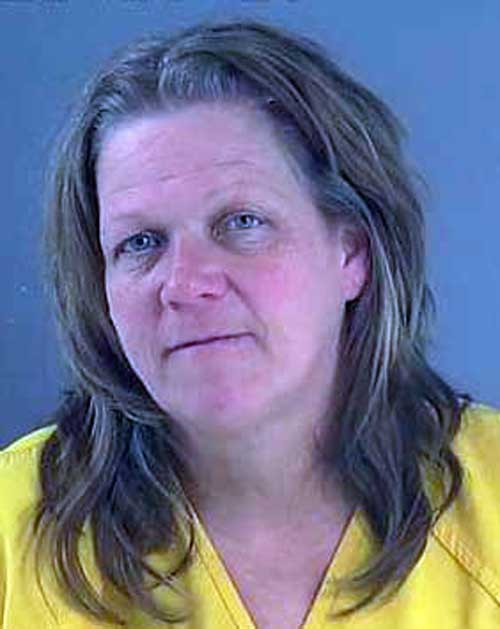 Contributed Photo/Courtesy GCSO: Shannon Ledbetter received additional drug charges after a jail sergeant located meth on her during booking. An additional aggravated DUI-drug charge is pending urinalysis.