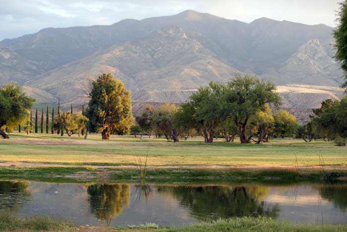 Jon Johnson File Photo/Gila Valley Central: The Mt. Graham Municipal Golf Course utilizes reclaimed water by Safford's wastewater treatment facility.