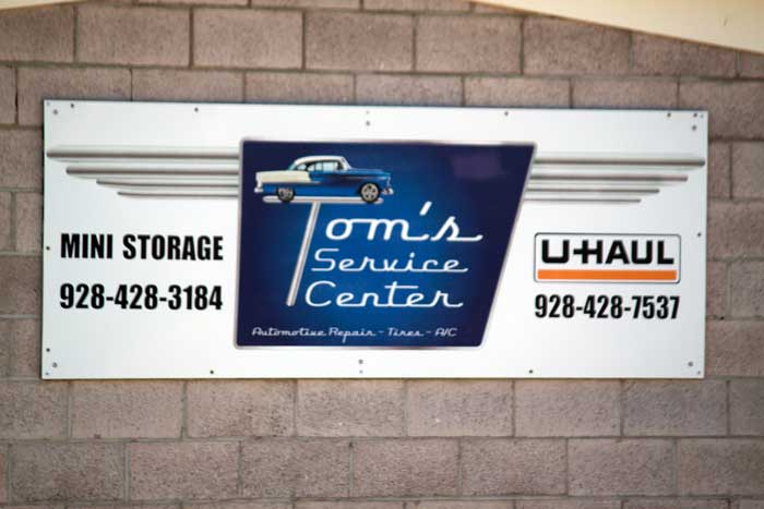 Jon Johnson Photo/Gila Valley Central: Authorities say Thomas Ticer fenced stolen auto parts out of his Thatcher shop and failed to pay his taxes on the proceeds.