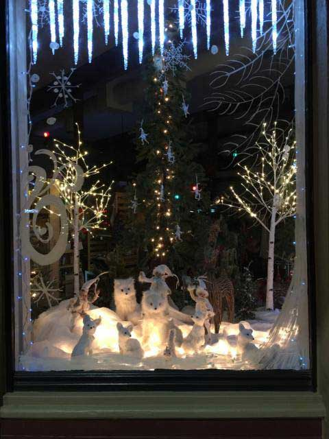 Contributed Photo Courtesy of Jenny Howard: Howard told Gila Valley Central that she drew the inspiration for the winter wonderland from her home sickness for the snowy state of Idaho.