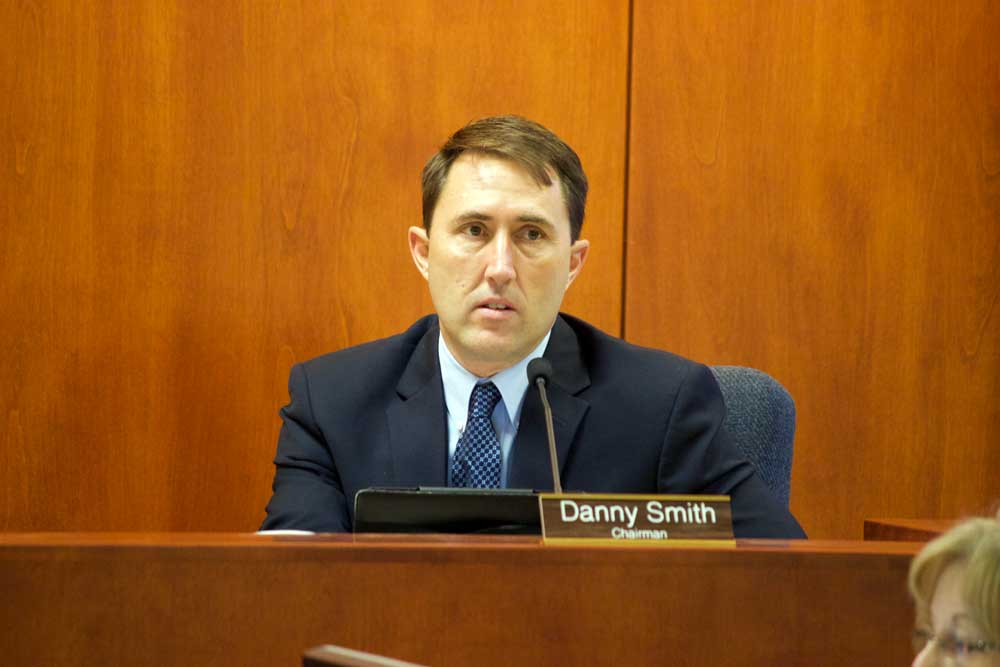 Jon Johnson Photo/Gila Valley Central: Supervisor Danny Smith was unanimously selected as the Board of Supervisors Chairman for the next 16 months.