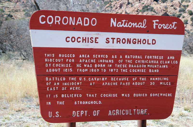 cochise-stronghold-sign