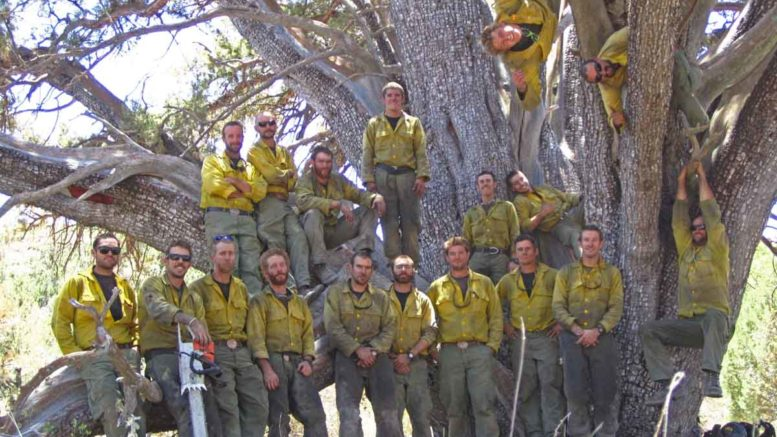 Firefighters Honor Granite Mountain Hot Shot Crew Who Died
