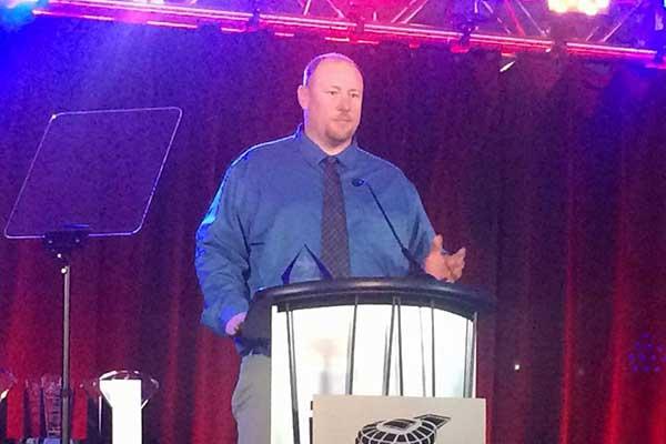 Lee Patterson Wins Skip Bryant Award