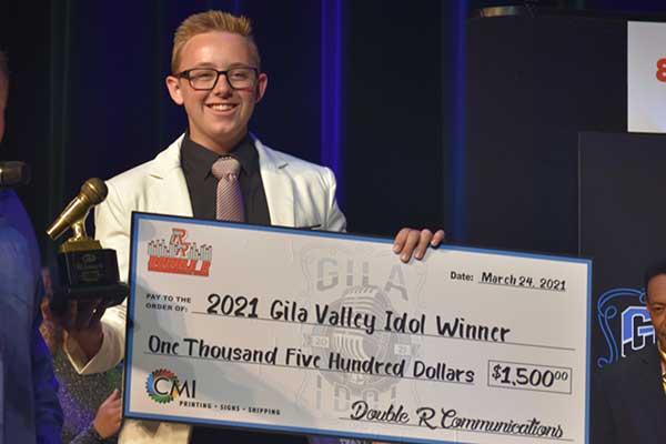 2021 Winner, Austin Pace